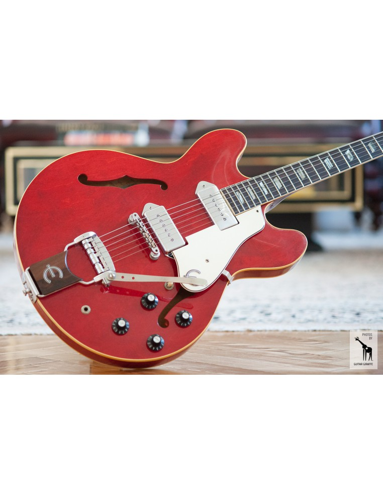 1967 Epiphone Casino Cherry