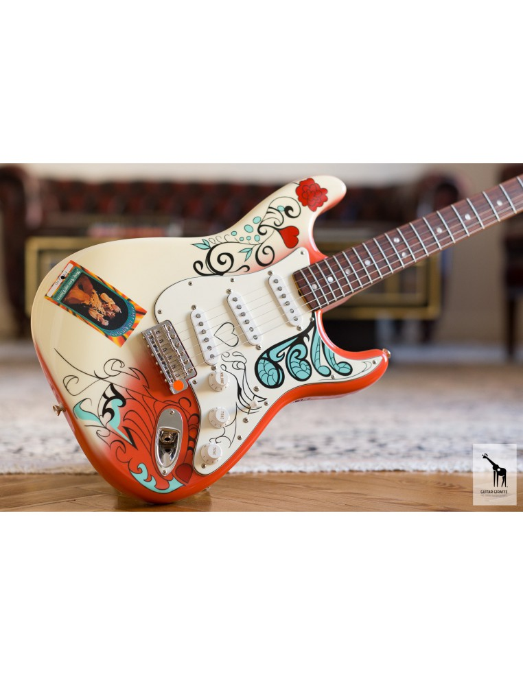 fender custom shop jimi hendrix monterey pop stratocaster. Black Bedroom Furniture Sets. Home Design Ideas