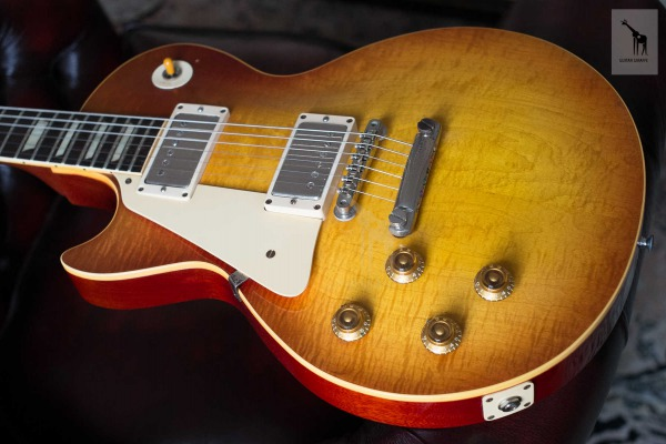 "The Spanish Burst: Spain's first Les Paul Standard ""sunburst"""